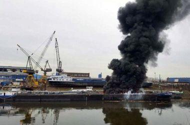 В Германии произошел взрыв на танкере