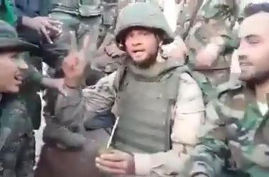 В Сети появилось видео российского солдата с террористами из Хезболлы