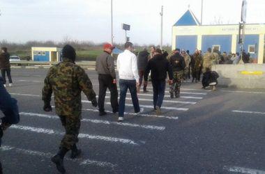 Активисты разблокировали трассу Киев–Одесса