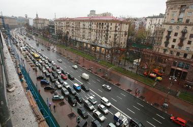 Сегодня в центре Киева перекроют движение