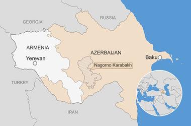 При обстрелах в Нагорном Карабахе погибли дети