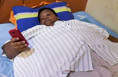 Как живет самый толстый мужчина Колумбии