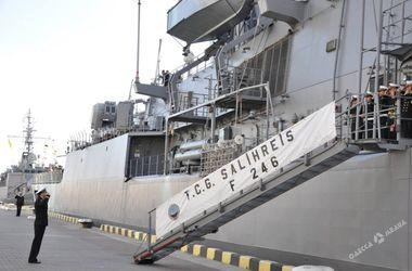 Два корабля ВМС Турции зашли в Одесский порт