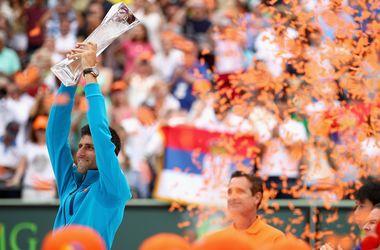 Новак Джокович обыграл Кея Нисикори в финале турнира в Майами