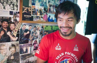 Неизвестный хотел побить экс-чемпиона мира по боксу Мэнни Пакьяо