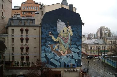 Новый мурал в Киеве признали одним из лучших в мире