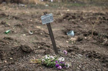 На Донбассе нашли захоронение с телами погибших во время боевых действий