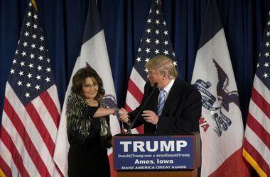 Сара Пэйлин агитировала за Трампа мертвым кабаном