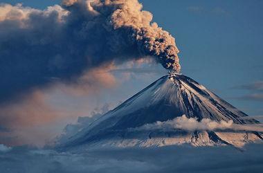 В России начал извергаться вулкан