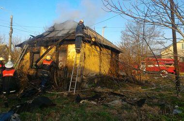 Под Киевом утром в доме заживо сгорела женщина