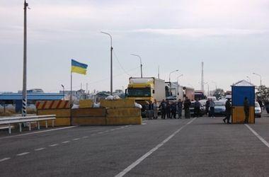 Россияне заблокировали границу Крыма для автомобилей с украинскими номерами