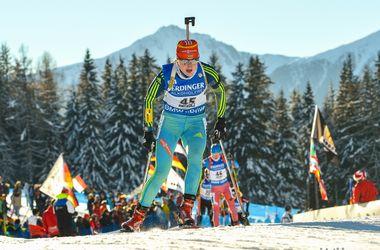 Украинские биатлонисты, уличенные в допинге, отстранены от соревнований до завершения исследований