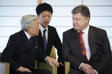 Порошенко пригласил в Украину императора Японии