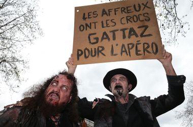 Массовые протесты во Франции обернулись побоищем