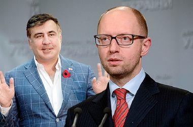 Саакашвили прокомментировал отставку Яценюка