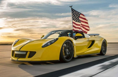 Американцы побили рекорд скорости на кабриолете