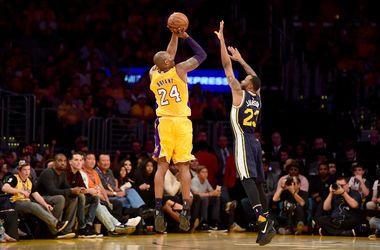 Легендарный баскетболист Кобе Брайант набрал 60 очков в прощальном матче в НБА