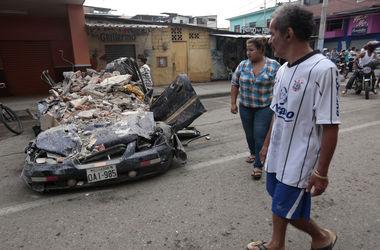 Количество погибших во время землетрясения в Эквадоре возросло до 233 человек