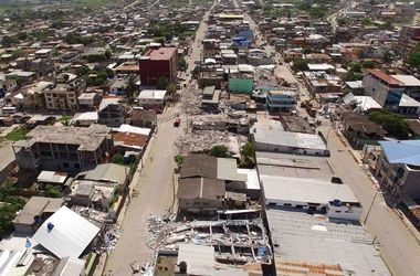 Количество погибших в Эквадоре возросло до 413 человек