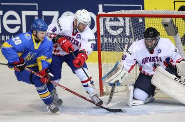 Украина выиграла третий матч подряд на чемпионате мира по хоккею