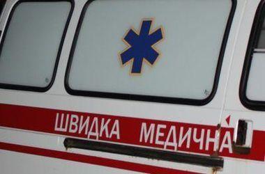 В результате падения крана в Умани пострадали двое детей