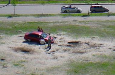 Природа наказала столичного героя парковки