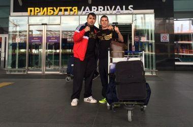 Соперник Дениса Беринчика прибыл в Украину