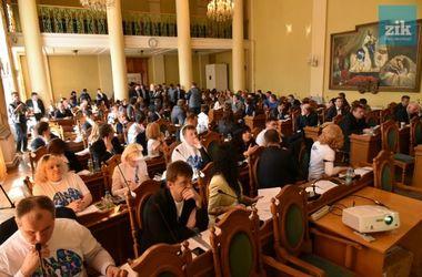 <p>Сессия Львовского горсовета. Фото: Николай Тыс</p>