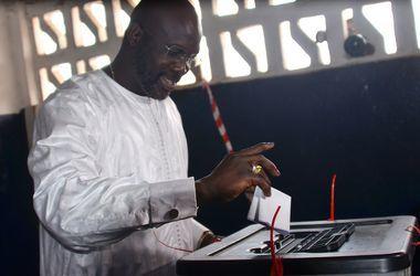 """Обладатель """"Золотого мяча"""" Джордж Веа снова будет баллотироваться на пост президента Либерии"""