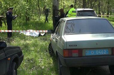 В сети появилось видео с места жуткого убийства бизнесмена под Запорожьем