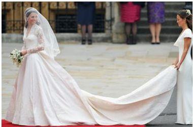 Скандальное платье: дизайнера подвенечного наряда Кейт Миддлтон обвинили в плагиате