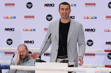 Британские фанаты просили Кличко нокаутировать Тайсона Фьюри