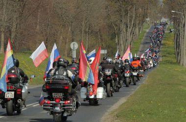 Польша не впустила в страну российских байкеров