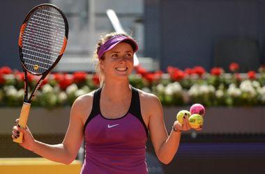 Элина Свитолина с победы стартовала на крупном турнире в Мадриде