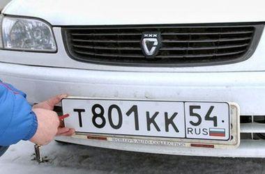 ФОТОФАКТ. Как россияне маскируют номерные знаки в Украине