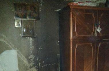 В Киеве пожар унес жизнь женщины