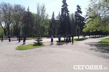 На Куликовом поле в Одессе обнаружили гранаты