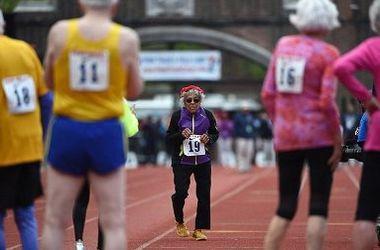 100-летняя американка установила мировой рекорд по бегу