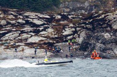 Названа причина крушения вертолета в Норвегии