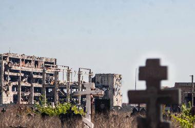 Кладбища Донецка: безымянные могилы, мародерство и наглость пособников боевиков