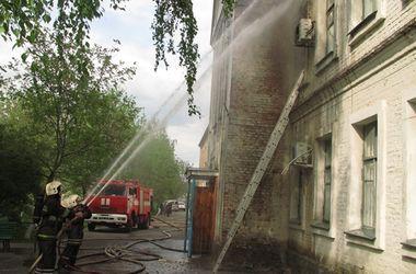 В Полтаве горела больница