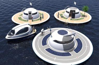Итальянская компания разработала автономный дом на воде