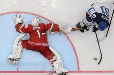 Сборная Финляндии разгромила Беларусь на чемпионате мира по хоккею