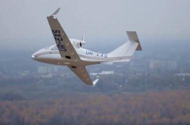 На авиашоу в США презентовали украинский самолет