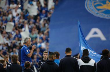 """Легендарный тенор Андреа Бочелли сдержал обещание и спел перед матчем """"Лестера"""""""