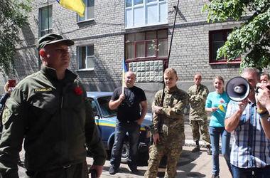 В Славянске задержали активиста с зеленкой