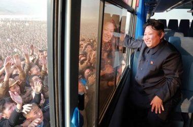 В КНДР отметили окончание съезда Трудовой партии масштабным парадом