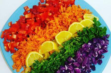 Как цвет еды влияет на ее пользу
