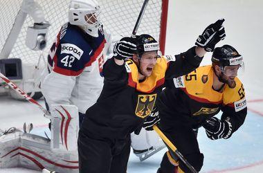 Сборная Германии крупно обыграла Словакию на чемпионате мира по хоккею