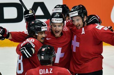 Сборная Швейцарии обыграла в овертайме Данию на чемпионате мира по хоккею